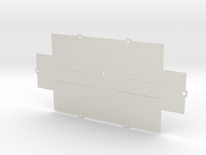 ZX-KEY Keyboard Case 'Bottom Plate' in White Natural Versatile Plastic