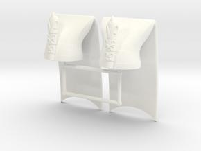 JANISSARY HAT x2 in White Processed Versatile Plastic