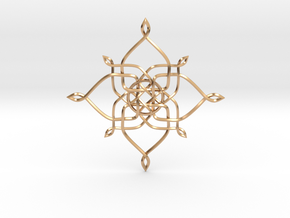 Pendant in Polished Bronze