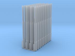 1:87 1583 BVL-mast met KIR KIK sokkel enkel (40x) in Smooth Fine Detail Plastic