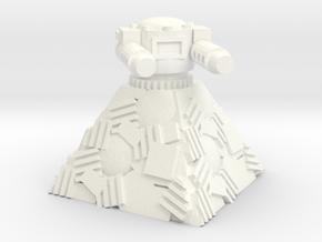 OrkY BiG GuNN PoST in White Processed Versatile Plastic