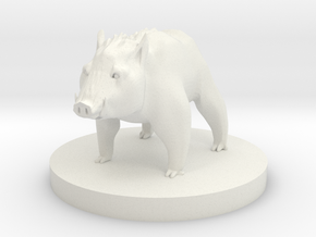 Boar - Grand Boar in White Natural Versatile Plastic