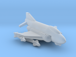 285 Scale Federation F-4 Ground-Based Fighter MGL in Smooth Fine Detail Plastic