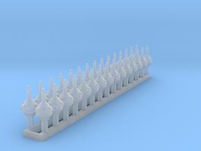1:87 Kroonmastkappen (30x zelfbouw) in Smoothest Fine Detail Plastic
