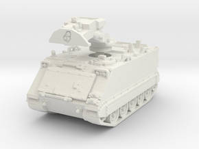 M981 FIST early (retracted) 1/76 in White Natural Versatile Plastic