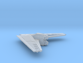 TextSpaced Bomber in Smooth Fine Detail Plastic