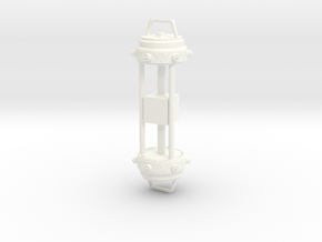 Tesseract - Cosmic Cube Holder 1:6 in White Processed Versatile Plastic