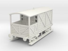 a-87-gwr-L355-1886-brake-van in White Natural Versatile Plastic
