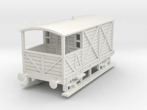 a-100-gwr-kesr-1886-brake-van in White Natural Versatile Plastic