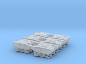 BOGATYR TANK (RUS FACTION) 6 PACK in Smooth Fine Detail Plastic