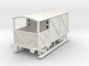 a-32-gwr-kesr-1886-brake-van in White Natural Versatile Plastic