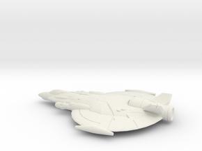 Lancer (Large) in White Natural Versatile Plastic