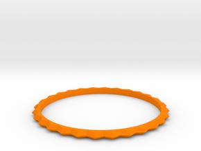 [1DAY_1CAD] BRACELET_type1 in Orange Processed Versatile Plastic