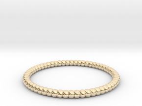 [1DAY_1CAD] BRACELET_type2 in 14K Yellow Gold