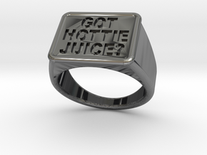 Got Hottie Juice? Ring in Antique Silver