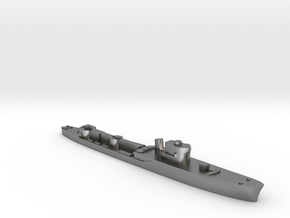 Italian Orione WW2 torpedo boat 1:1800 in Natural Silver