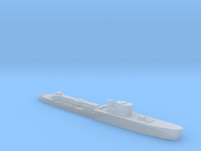 Italian Orione WW2 torpedo boat 1:3000 in Smoothest Fine Detail Plastic