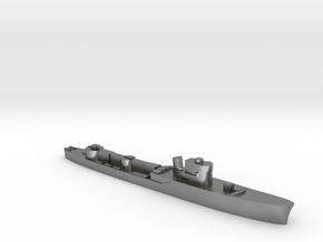 Italian Orione WW2 torpedo boat 1:2400 in Natural Silver