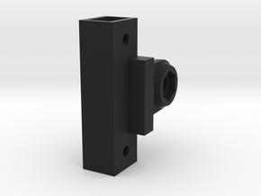 Spektrum DX5C Rugged Compatible GoPro Mount in Black Natural Versatile Plastic