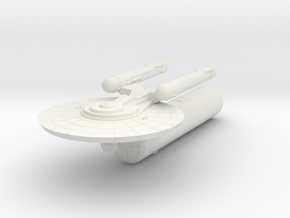 3788 Scale Federation LTT with Carrier Pod WEM in White Natural Versatile Plastic
