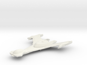 Klingon Scout in White Natural Versatile Plastic