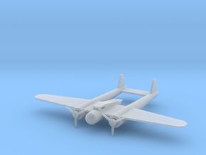 Fokker G-1 small in Smooth Fine Detail Plastic
