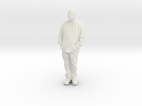 Printle C Homme 890 - 1/24 - wob in White Natural Versatile Plastic