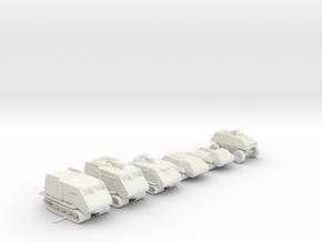 Landrams 220 scale in White Natural Versatile Plastic