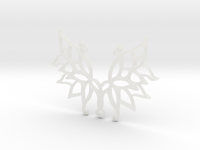 :Wings N Things: Pendant in Smooth Fine Detail Plastic