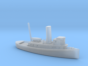 1/700 Scale 100 foot wooden harbor tug Retriever in Smooth Fine Detail Plastic