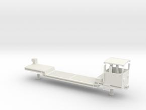 Wengenalpbahn uaikt 821 h0e in White Natural Versatile Plastic