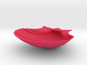 Scallop Shell in Pink Processed Versatile Plastic
