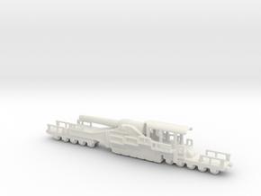 french 320mm railway artillery alvf 1/200 in White Natural Versatile Plastic