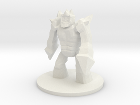 Elemental - Ice Lord in White Natural Versatile Plastic