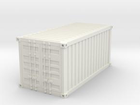 Warhammer 40K container 28mm in White Natural Versatile Plastic