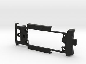 Lancia Fulvia 3D Chassis in Black Natural Versatile Plastic