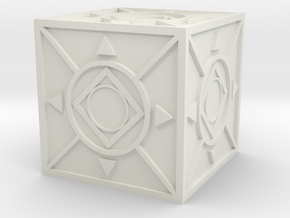 Jedi Holocron 2 in White Natural Versatile Plastic