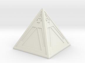 Sith Holocron in White Natural Versatile Plastic