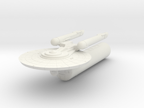 3125 Scale Federation LTT with Battle Pod WEM in White Natural Versatile Plastic