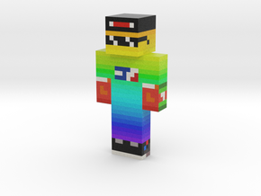 MLGaming_Ace | Minecraft toy in Natural Full Color Sandstone