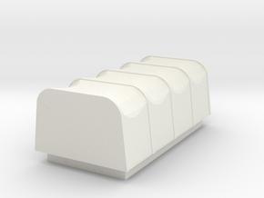 Lorry Tarp Accessory in White Natural Versatile Plastic