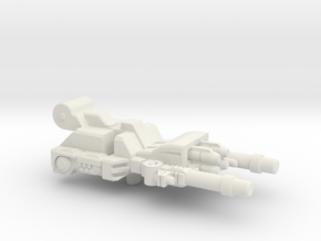 Sixshot Barrel for Blowpipe / Caliburst in White Natural Versatile Plastic