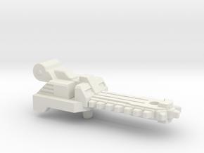Chainsaw Blade for Blowpipe / Caliburst in White Natural Versatile Plastic