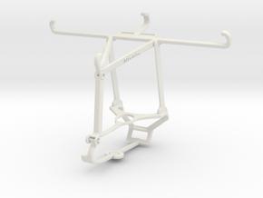 Controller mount for Steam & Motorola Moto Z4 - To in White Natural Versatile Plastic
