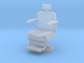 Printle Thing Barbers Chair 02 - 1/87 in Smooth Fine Detail Plastic