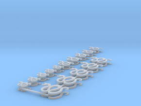 Snake icons in Smooth Fine Detail Plastic