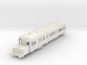 o-87-gsr-clayton-steam-railcar-scheme-A in White Natural Versatile Plastic