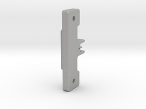 Solenoid Clamp plate v4 in Aluminum