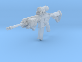1/10th 416D Tactical8 in Smooth Fine Detail Plastic