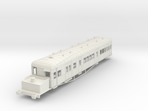o-76-gsr-clayton-steam-railcar-scheme-A in White Natural Versatile Plastic